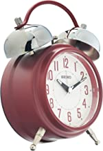 Seiko Desk Clock, Analog, Red - QHK051RL