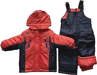 Baby Boys' Infant Heavyweight 2 Pc Colorblock Snowsuit