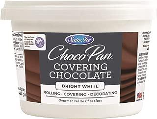 Satin Ice ChocoPan Bright White Covering Chocolate, 1 Pound