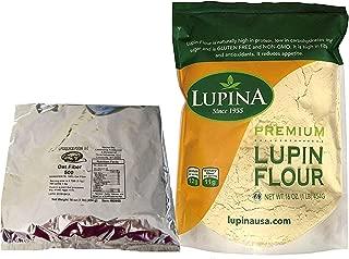 Popular Keto Baking Bundle - Lifesource Foods Oat Fiber 500 + Lupina Lupin Flour 16 oz