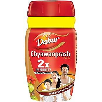 Dabur Chyawanprash: 2X Immunity, helps Build Strength and Stamina- 500g (Get 50g free)