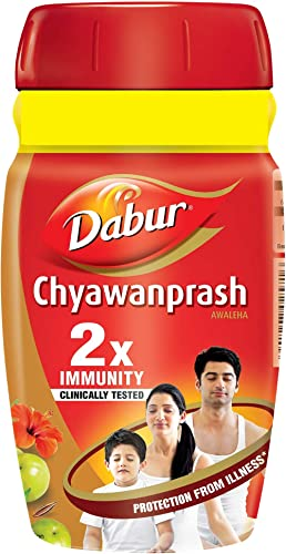 Dabur Chyawanprash: 2X Immunity, helps Build Strength and Stamina- 500g (Get 50g free)