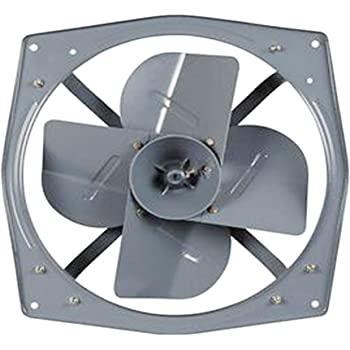 Indo 1400 Rpm Iron Exhaust Fan Components And Motor Grey Amazon