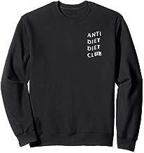 Anti Diet Diet Club Sweatshirt (Black)