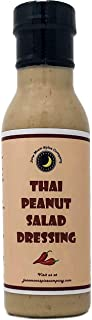 Premium | THAI PEANUT Salad Dressing | Low Saturated Fat | Low Cholesterol | Crafted in Small Batches with Farm Fresh Herbs for Premium Flavor and Zest