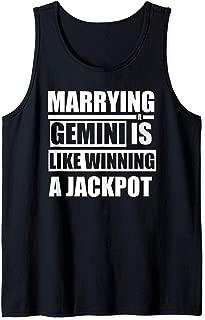 Funny Gemini Horoscope Marrying A Gemini  Tank Top