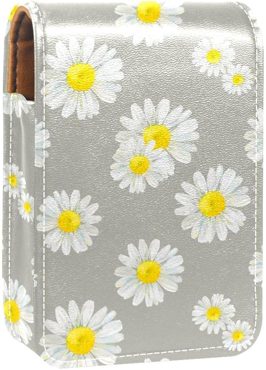 Lipstick Case Max 76% OFF Chamomile Attention brand Flower Prints Pattern Hold Mini