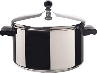 Farberware Classic Series Farberware 6-Qt. Covered Stockpot (Renewed)