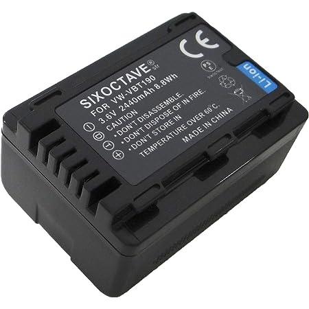 str VW-VBT190-K VW-VBT190 互換バッテリー パナソニック HC-V360MS HC-V480MS HC-VX980M HC-W570M HC-W585M HC-WX990M HC-WXF990M HC-WX995M HC-VX985M HC-WXF1M/WZXF1M HC-VX990M/VZX990M HC-WX1M/WZX1M HC-VX1M/VZX1M/HC-WX2M 等カメラ用
