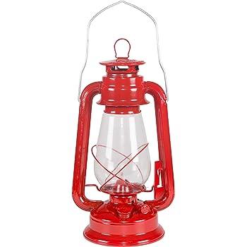 Stansport Small Hurricane Lantern (Red)