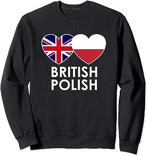 British Polish Flag Sweatshirt