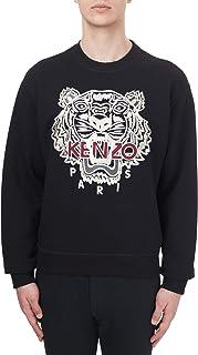 Kenzo Embroidered Tiger Varsity Black Sweatshirt