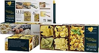 Eppicotispai 8-Piece Raviolli and Tortellini Starter Set, Cream