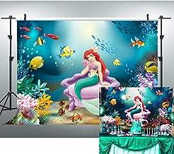 Best mermaid birthday party background Reviews