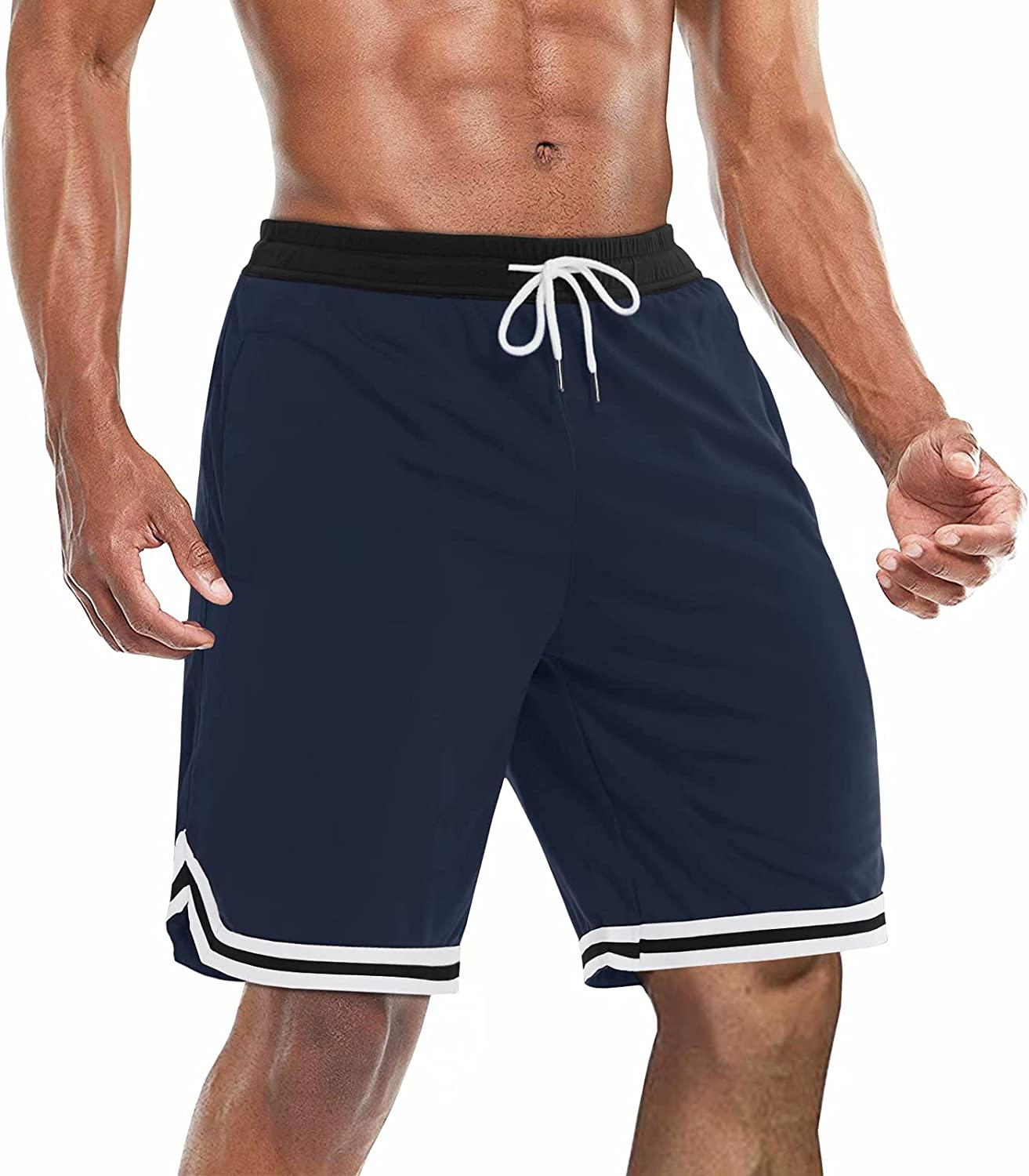 BIYLACLESEN Men's Athletic Running Shorts Quick Wor Mesh Gym Dry Special price for New color a limited time
