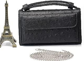Shoulder Cross-Body Bag Small Crocodile Pattern Genuine Leather Clutch Chain