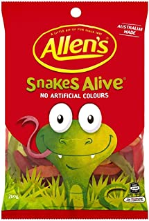 allens snakes alive flavours