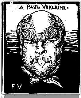 Felix Vallotton 伸びた ジクレー キャンバスに印刷-有名な絵画 美術品 ポスター -再生 壁の装飾 ハングする準備ができて(ポール・ヴェルレーヌ)#NK