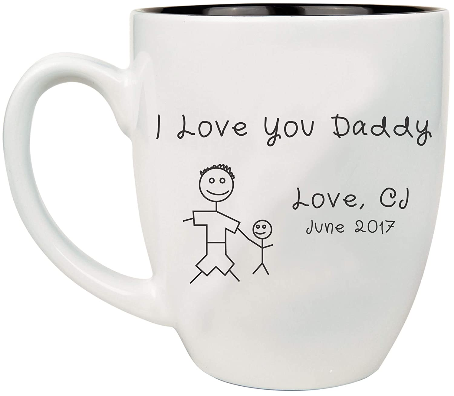 Engraved Special Campaign Father's Day Coffee Mug Personalized Cof Ceramic 16 Indianapolis Mall oz