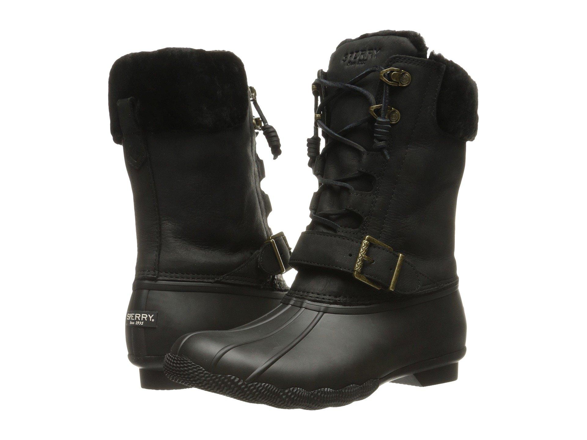 vans black duck boots