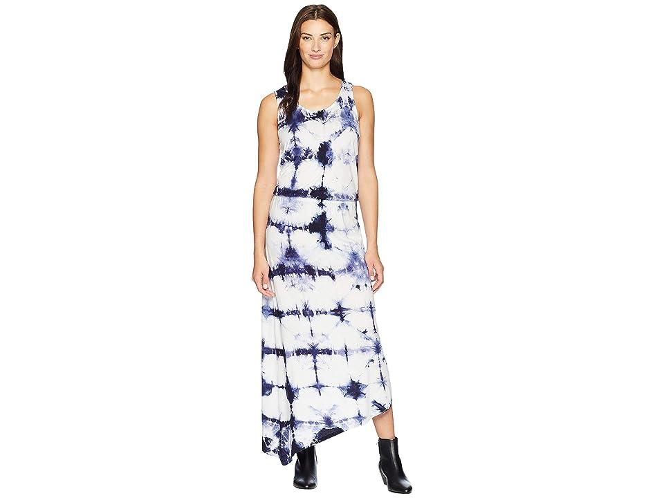 Fresh Produce Tivoli Aria Long Dress (Dye Tech Moonlight Blue) Women