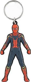 <US>アベンジャーズ インフィニティーウォー ラバーKC(スパイダーマン) 10cm L1