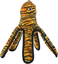 TUFFY - World's Tuffest Soft Dog Toy - MEGA Ocean Creature Octopus- Squeakers - Multiple Layers. Made Durable, Strong & Tough. Interactive Play (Tug, Toss & Fetch). Machine Washable & Floats