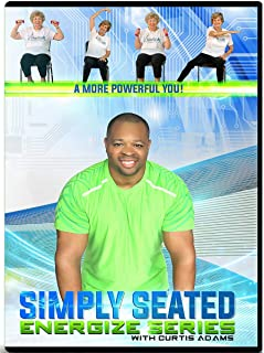 CHAIR EXERCISE DVD FOR SENIORS- Simply Seated is an invigorating Total Body Chair Workout. Warm up, Aerobic Endurance, Strengthening, Stretching and More! You will love this chair exercise for seniors