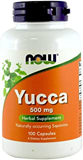 Yucca 500mg 100 Capsules (Pack of 2)