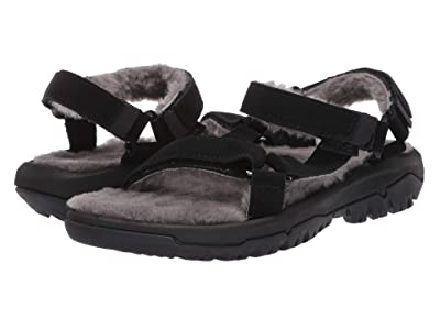 Teva Hurricane Shearling (Black) Women