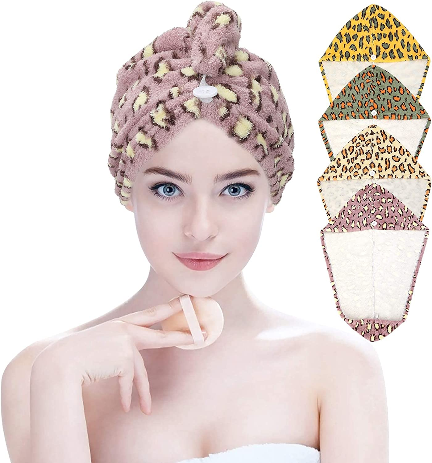 Microfiber Limited time for Safety and trust free shipping Hair Towel Wet Turbans Drying Women