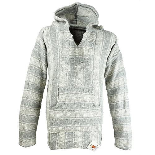 d5606c6a2 Funny Guy Mugs Premium Baja Hoodie Sweatshirt Pullover Jerga Poncho