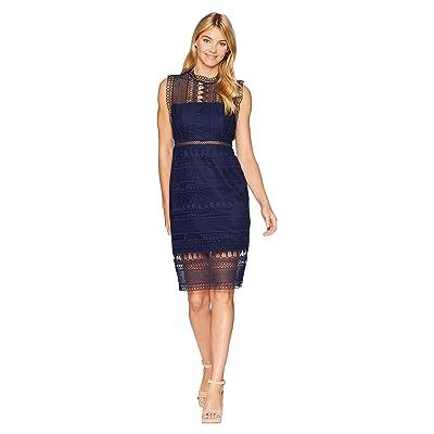 Bardot Mariana Lace Dress (Patriot Blue) Women