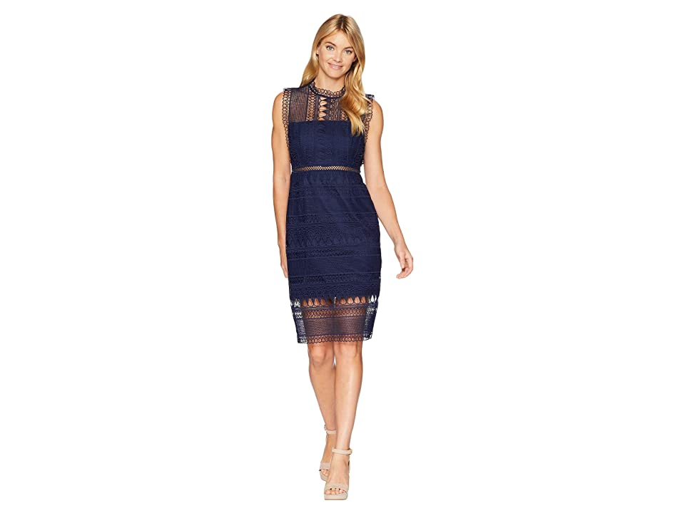 Bardot Mariana Lace Dress (Patriot Blue) Women