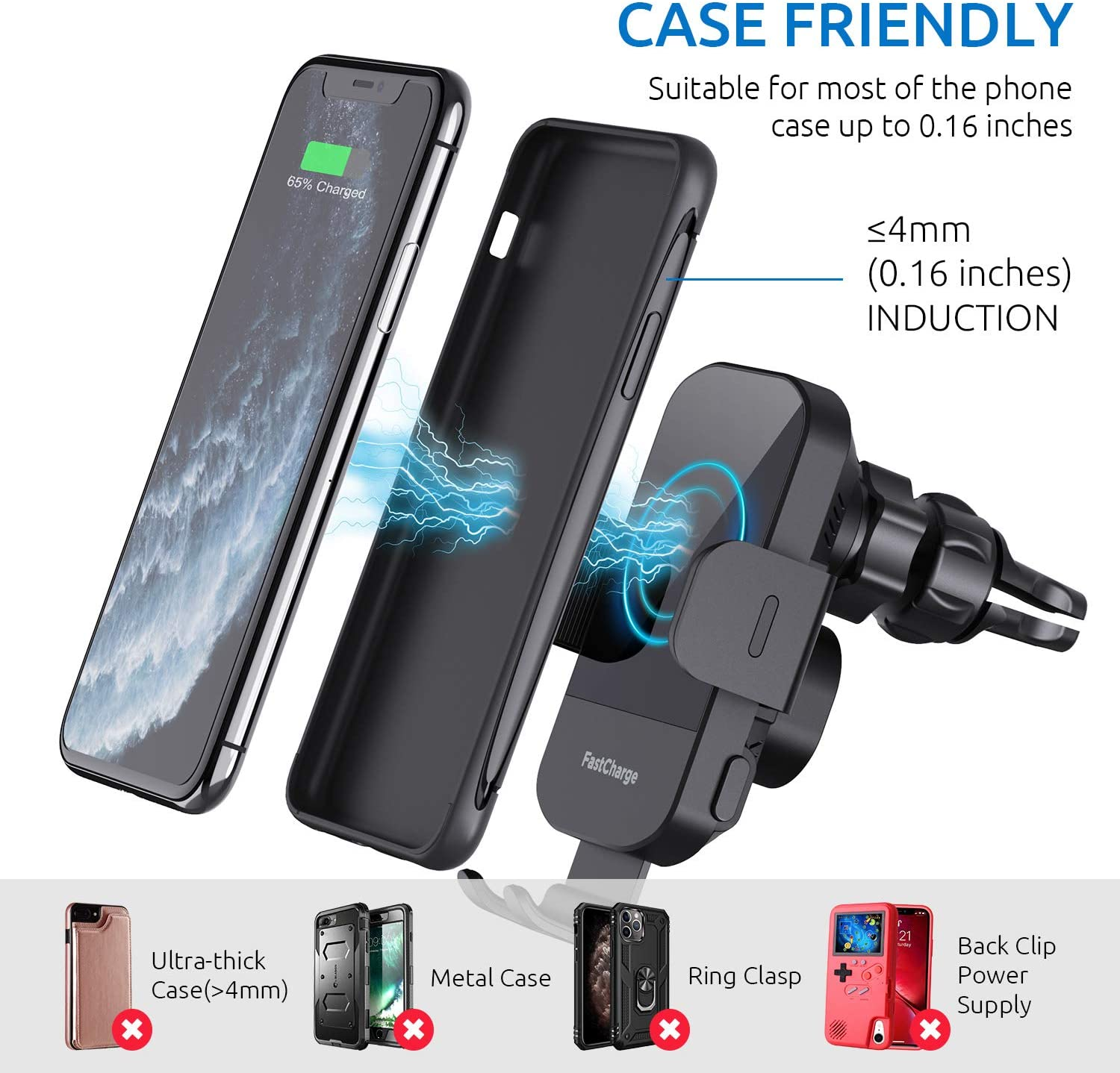 CHGeek Smartphone holder case friendly for ford escape