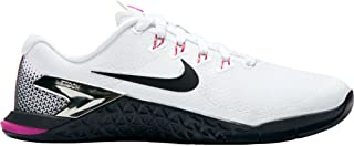 Nike Women's WMNS Metcon 4, White/Metallic Silver