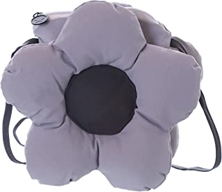 Kawaii-Story LB-7050-2 Blume grau gesteppt Scherz Gag Damen Umhänge Stoff Tasche