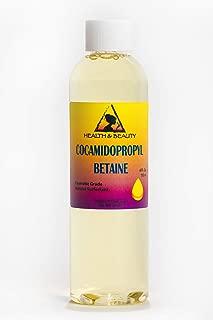 Cocamidopropyl Betaine Coco Betaine CAPB Natural Surfactant Liquid Premium Highest Purity 100% Pure 4 oz