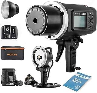 Godox AD600BM Bowens Mount Manual Versión Aire Libre Flash+ X1T-N transmisor+ Ad-h600b +CB-09 para Nikon D800 D700 D7100 D...