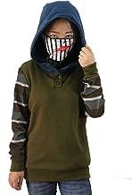 Cosplay Creepy Ticci Toby Womens Hoodie Pullover Thicken Sweatshirt