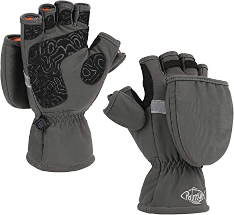 against cold during sports /& work warm winter gloves /& bicycling gloves THE HEAT COMPANY quality from the Alps fingerless touchscreen glove and mitten in one HEAT 2 SOFTSHELL