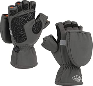 Best Ice Fishing Gloves Convertible Mittens Flip Fingerless Mitt with Thinsulate 3M Warm for Cold Weather and Winter Men Women Photography Running Camera Review
