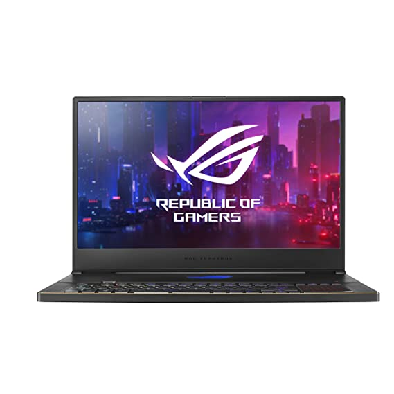 ASUS ROG Zephyrus S GX701GX-EV058T 17.3-inch 144Hz Full HD Gaming Laptop (8th Gen Core i7 8750H/24GB/1TB PCIe SSD/Windows 10/RTX 2080 MAX-Q 8GB Graphics), Black