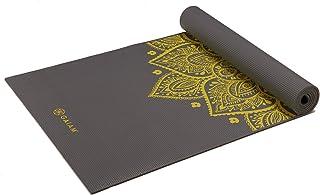 Gaiam Yoga Mat - Premium 6mm Print Extra Thick Non Slip...