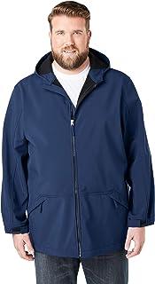 KingSize Men's Big & Tall Fleece-Lined Rain Coat