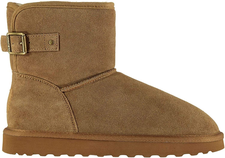 SoulCal Alison Gemütlich Stiefel damen Braun Footwear Schuhe