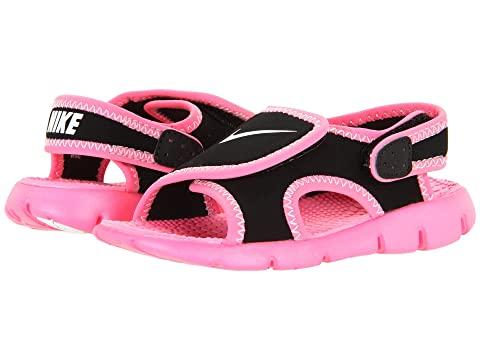 6PM:Nike 耐克 Sunray Adjust 4童款魔术贴凉鞋 特价仅售$17.99