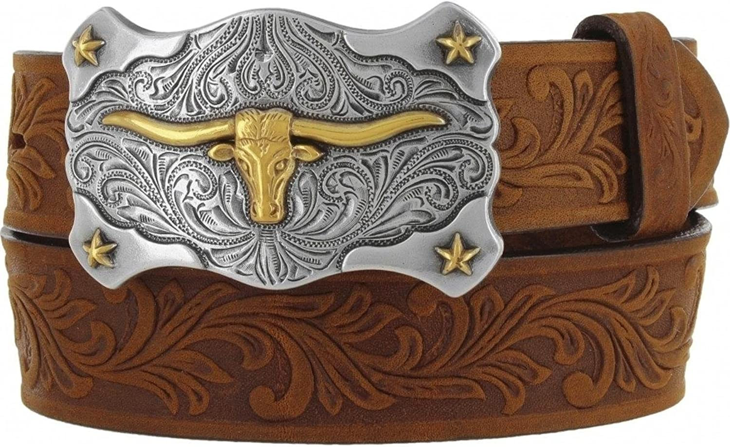 Tony Max 87% OFF Lama Boys' Little Texas OFFer Belt Buckle And Brown