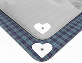 16 Pack of AURIZE Compact Duvet Clips, Iron-on Fabric and Metal Snaps Composition Keep Duvet Cover Securely in Place 2.9 White