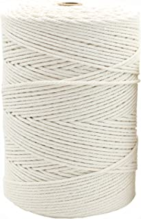 500 Meter Natural Cotton Macrame Cord 3mm Rope in Bulk Wholesale for Making Knitting Wall Hanging Plant Hanger Handcraft 5...